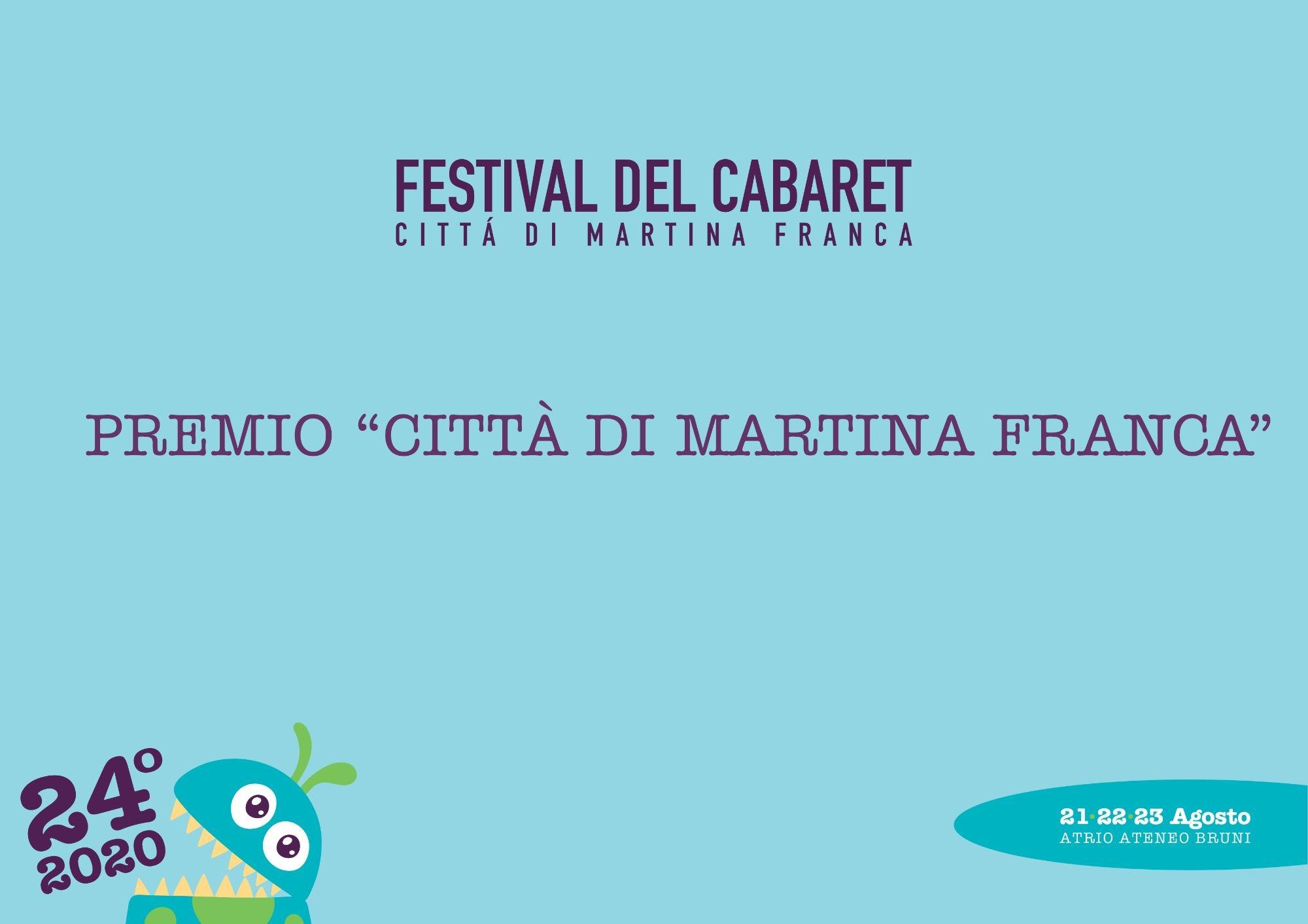 """PREMIO PREMIO """"CITTÀ DI MARTINA FRANCA"""""""